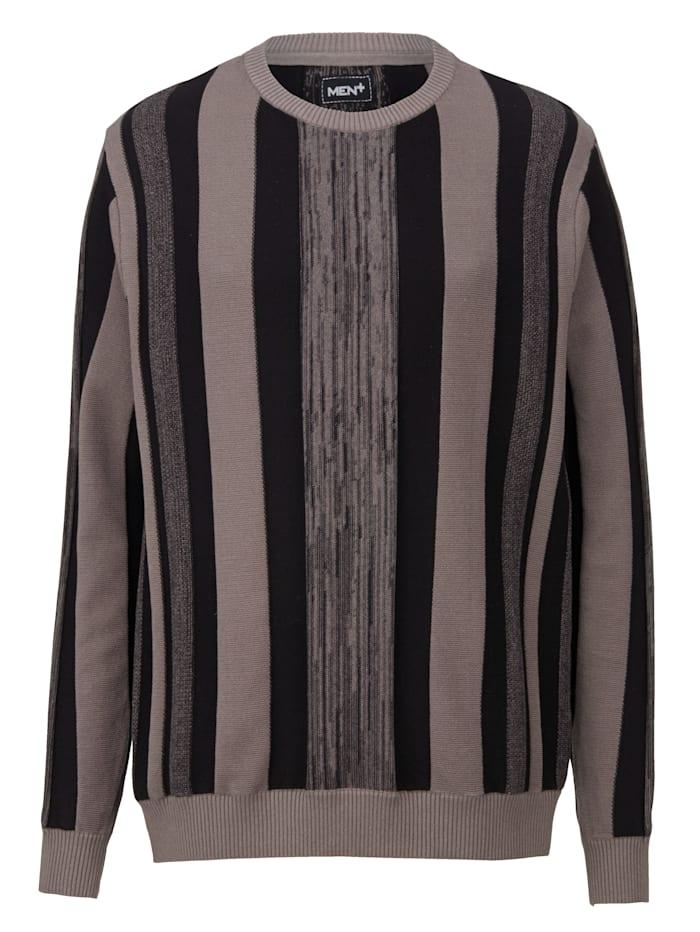 Pullover mit Streifen-Design