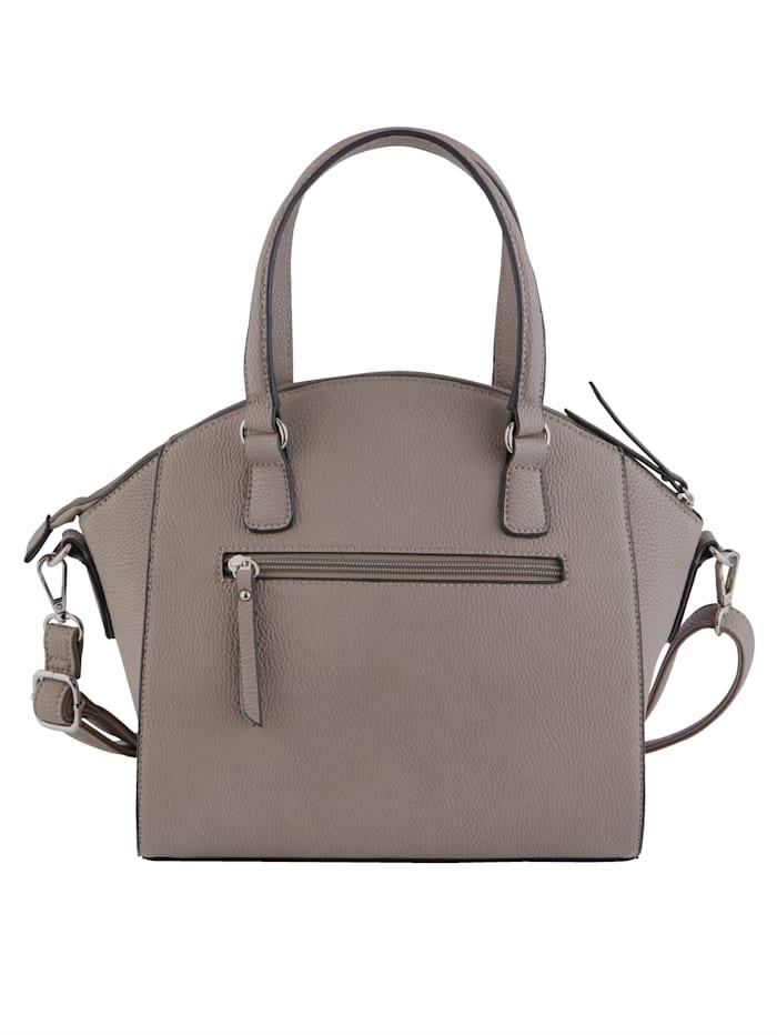 Handtasche mit Taschenherz-Anhänger