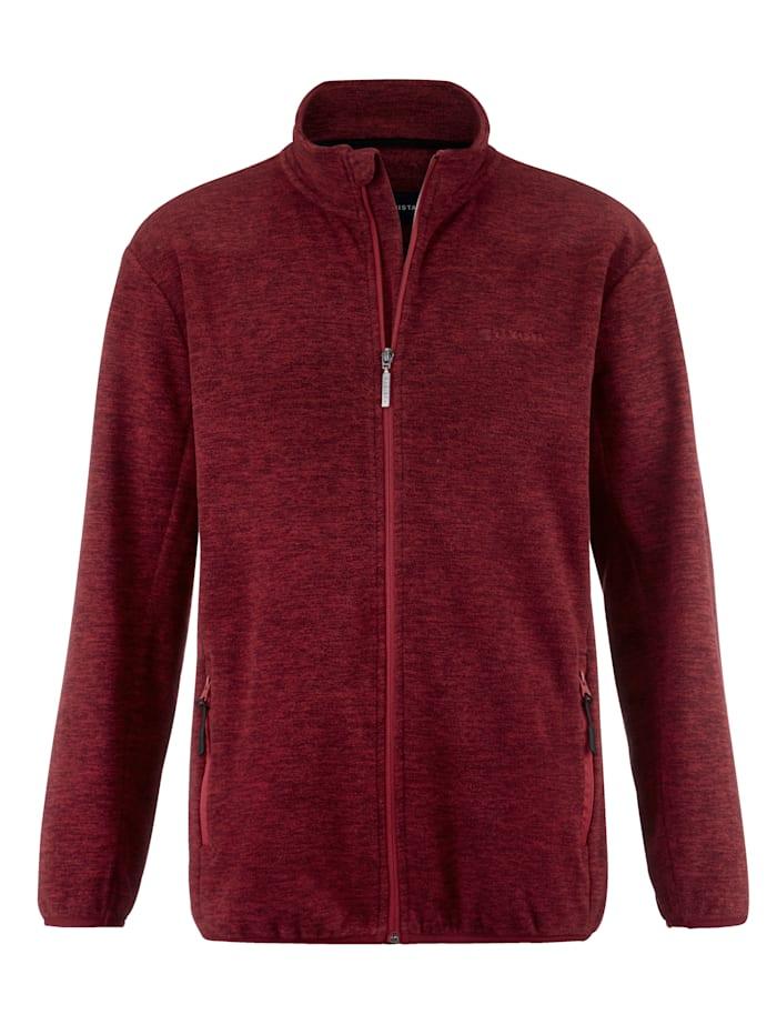 BABISTA Fleece vest in gemêleerde look, Rood