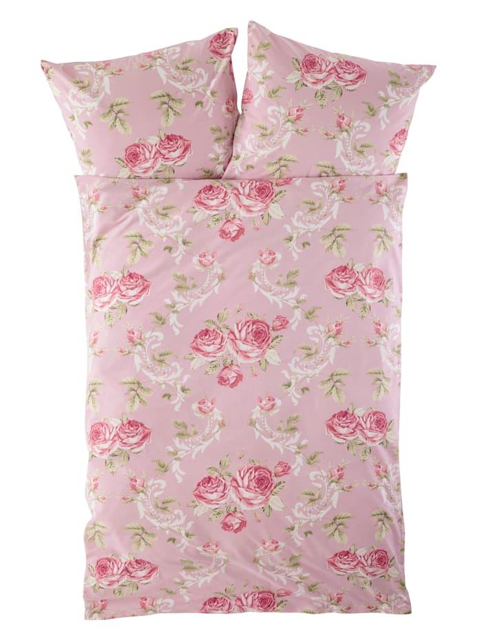 Webschatz Biber posteľná bielizeň Charlotte 2-d., staroružová