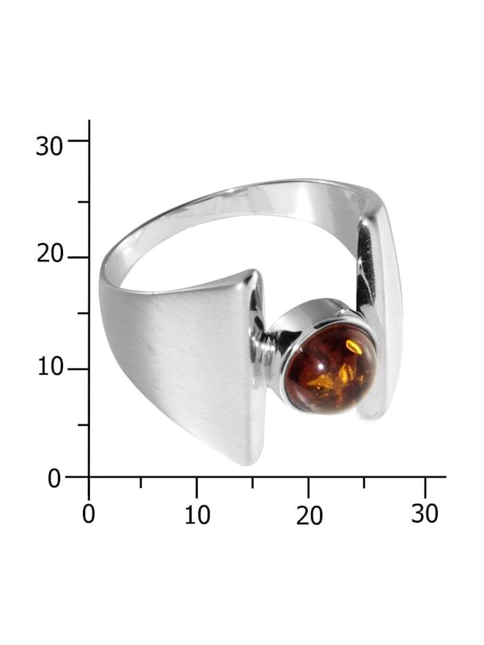 Ring - Asina - Silber 925/000 - Bernstein