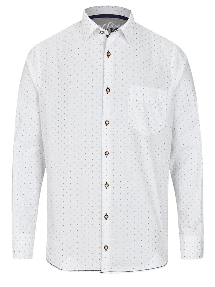 Trendiges Trachtenhemd Langarm