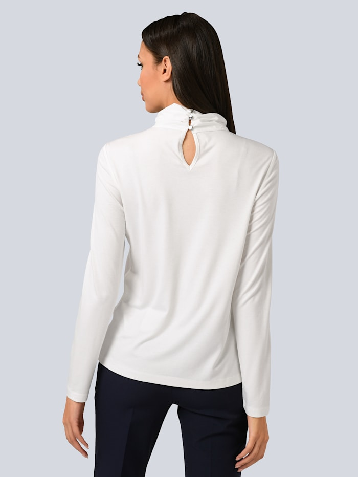 Shirt partielle mit Strass verziert