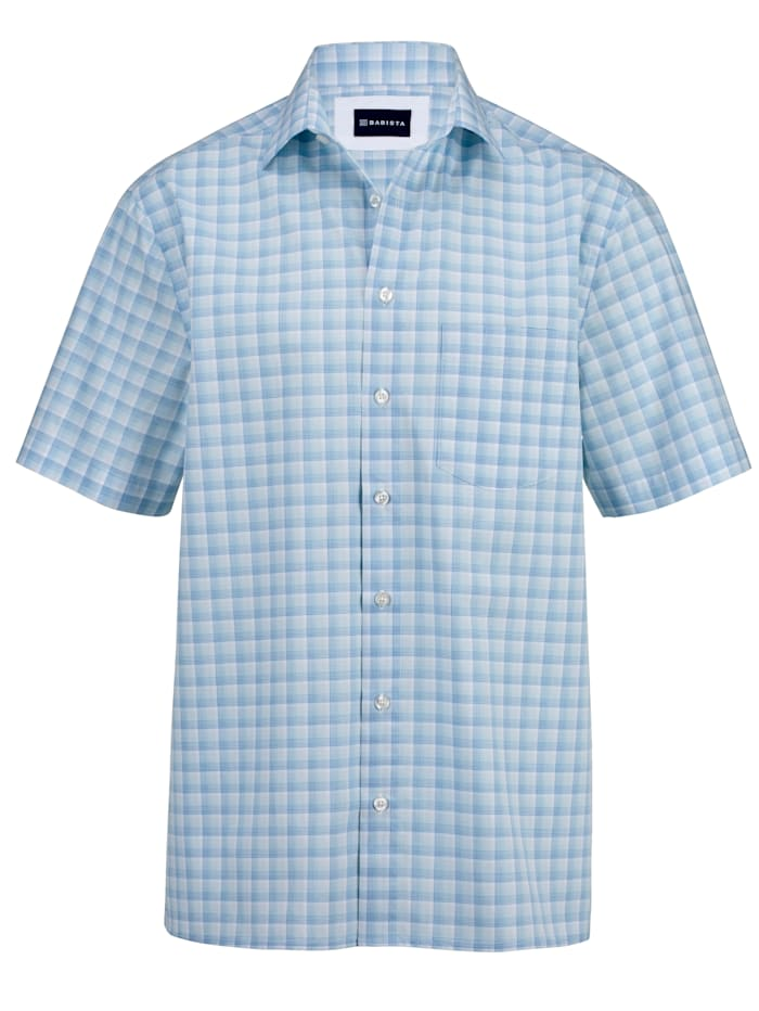 BABISTA Kortärmad skjorta i lättstruket material, Blå