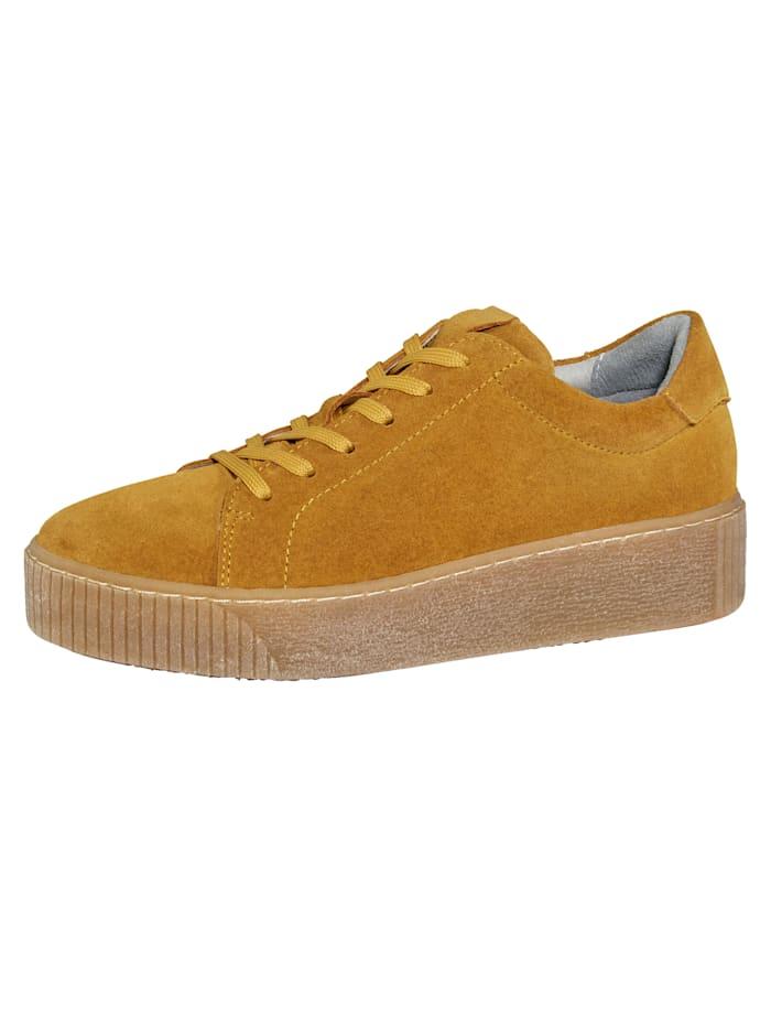 Filipe Shoes Sneaker in supermodieuze look, Okergeel