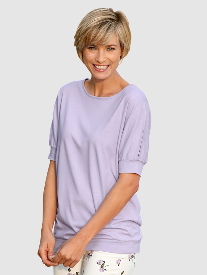 Dress In Top with cutout detailing on sleeves, Lavender