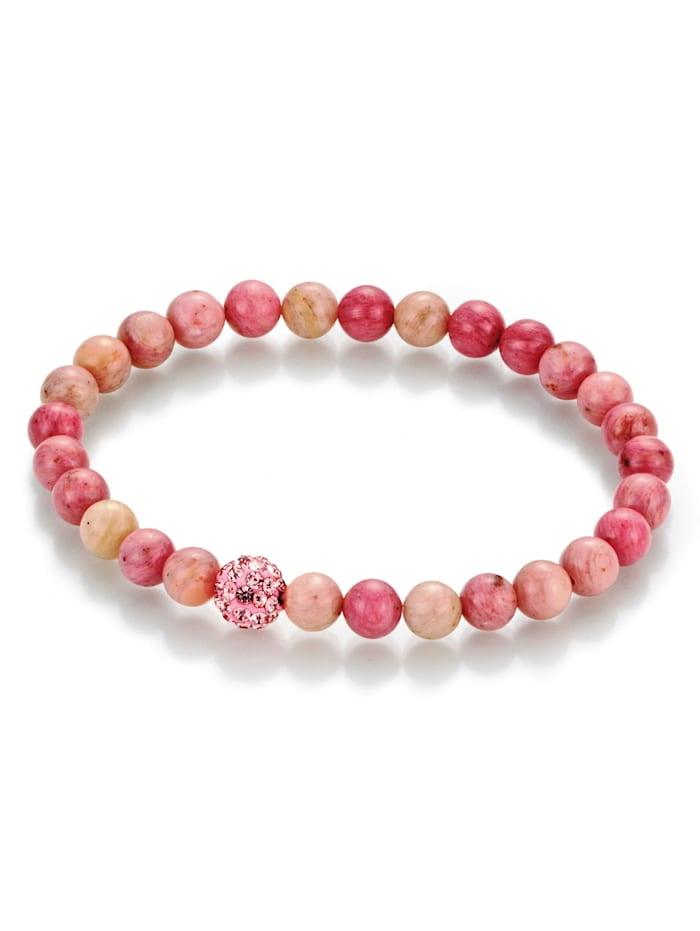 Smart Jewel Rhodonit-Armband Smart Jewel 140044712, Rosé