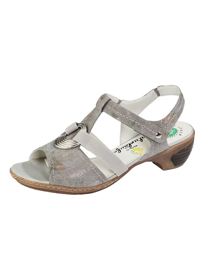 Reflexan Sandale, Grau