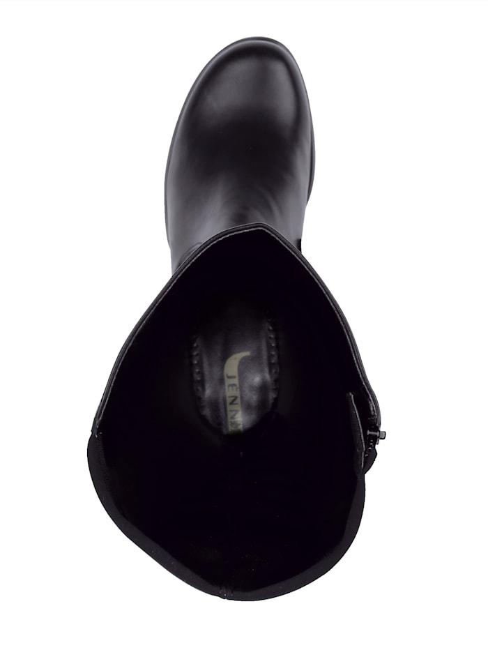 Høye støvletter med bred stretch