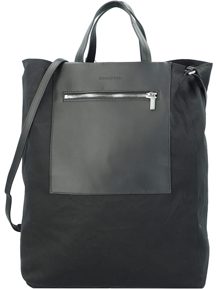 Marc O'Polo Palermo Shopper Tasche mit Wendeoption 38 cm, black