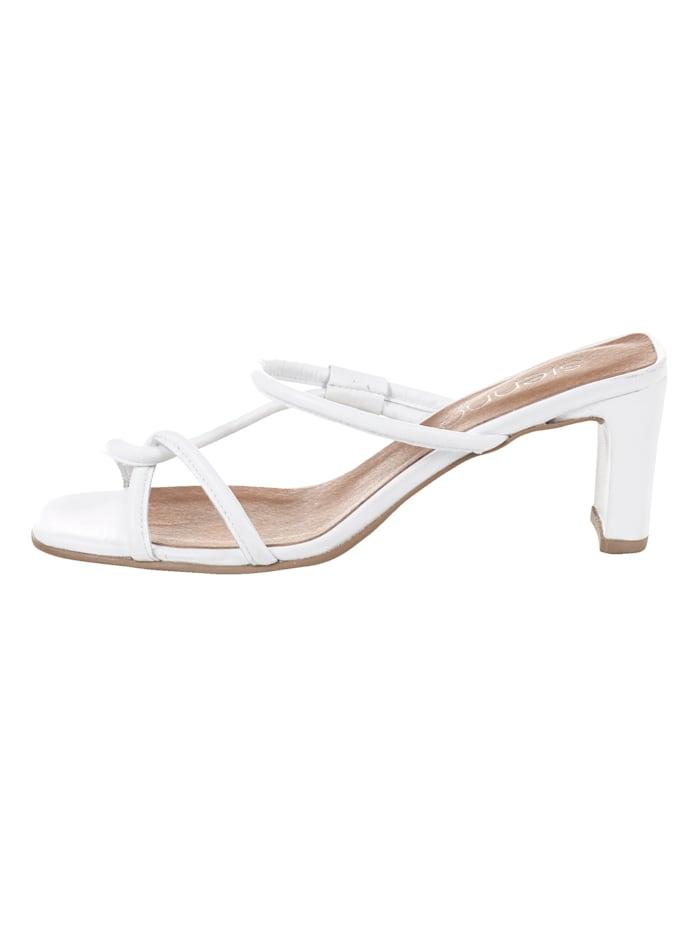 SIENNA Sandalette, Weiß