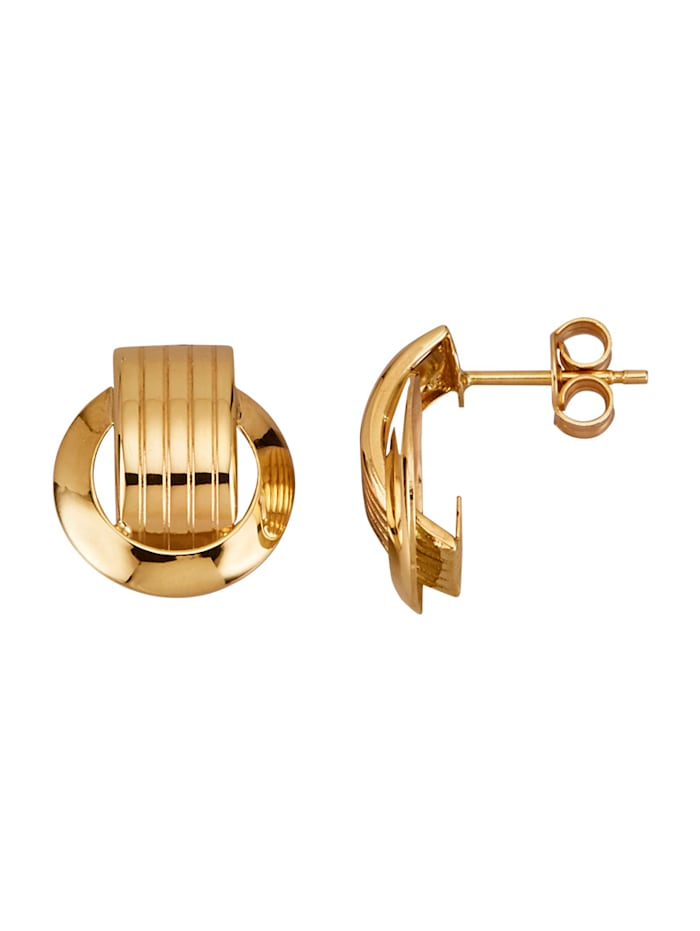 Diemer Gold Oorbellen van 14 kt. goud, Geelgoudkleur