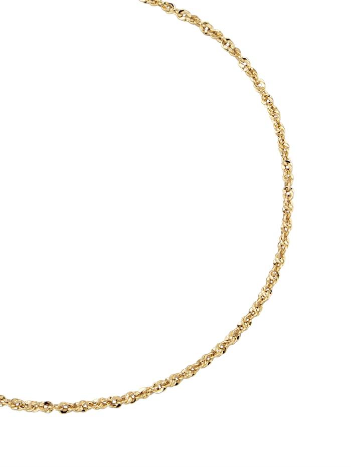 Halskette in Gelbgold, Gelbgoldfarben