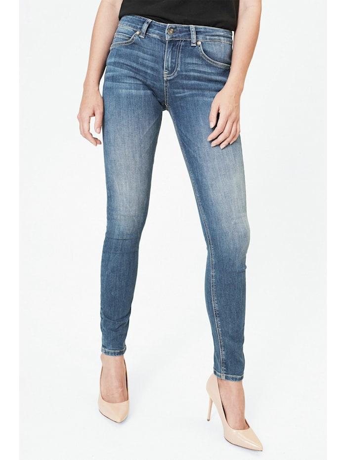 Harlem Soul Blue Used Jeans KAR-LIE, blue used