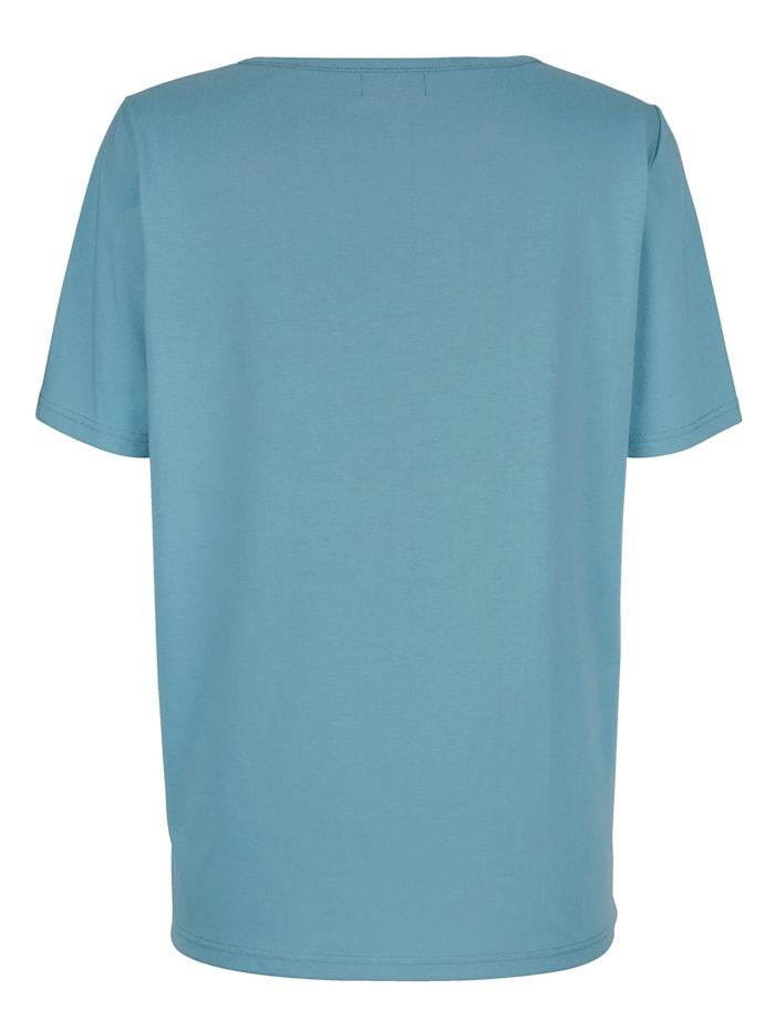 Shirt mit Dekoknöpfen