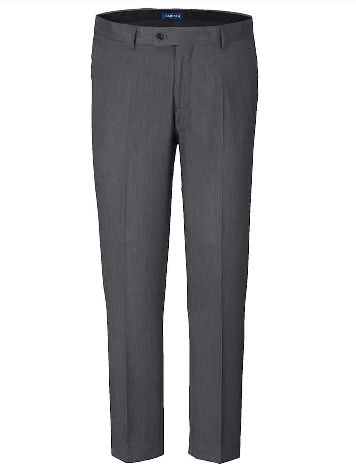 BABISTA Kostymbyxor i klassisk modell, Antracitgrå
