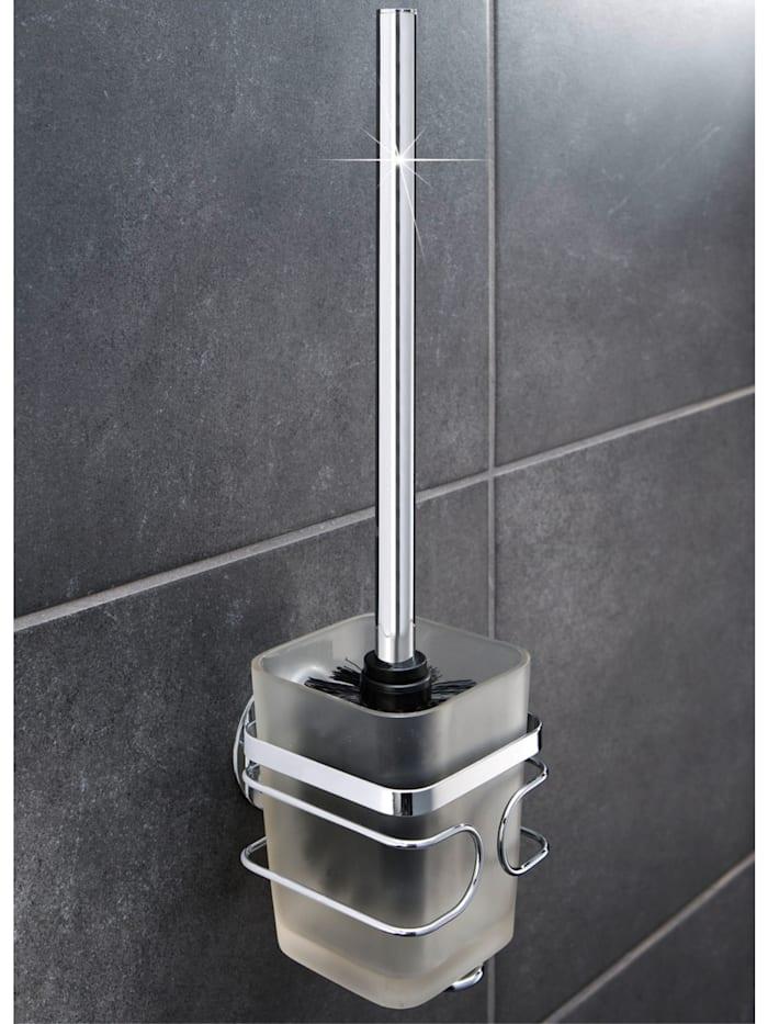TurboFIX Edelstahl WC-Garnitur, rostfrei, Befestigen ohne bohren