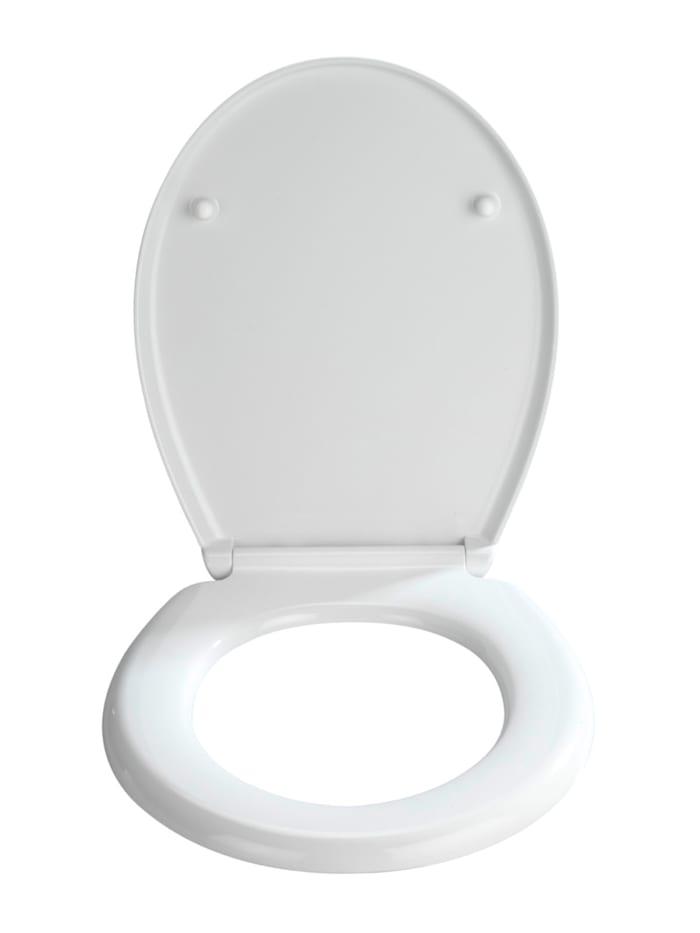 WC-Sitz Bilbao, aus antibakteriellem Duroplast mit Absenkautomatik