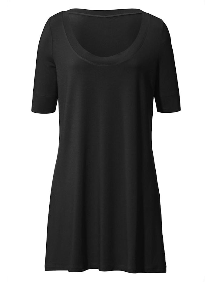 Anna Aura Jersey-Shirt mit 1/2-Arm ., schwarz
