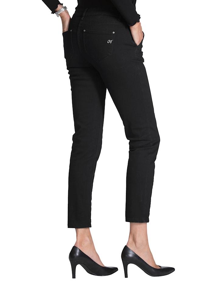 Jeans mit Schnürungen