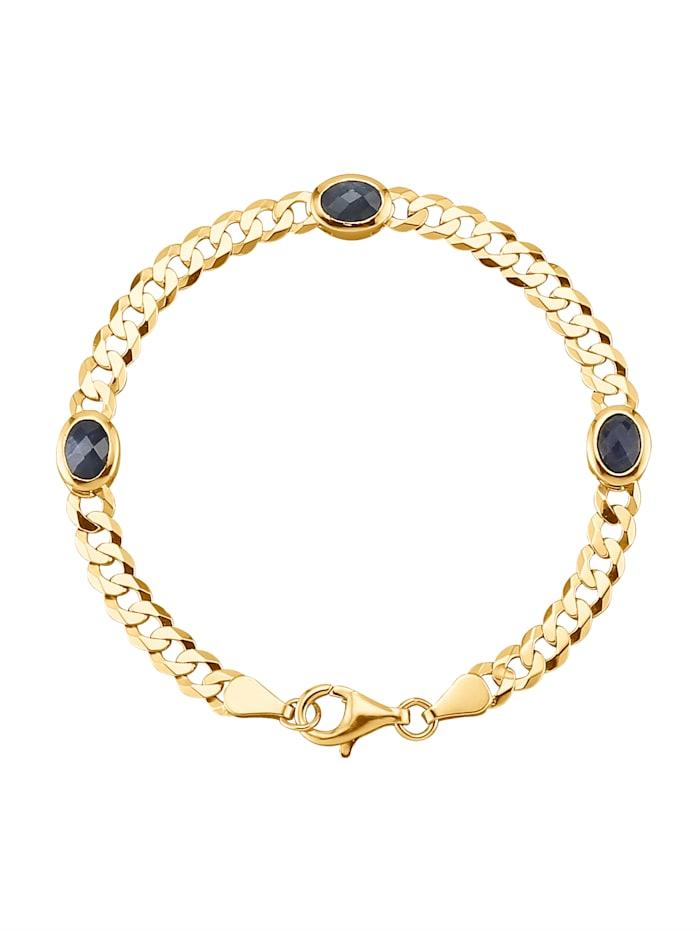 Armband mit Saphiren, Blau