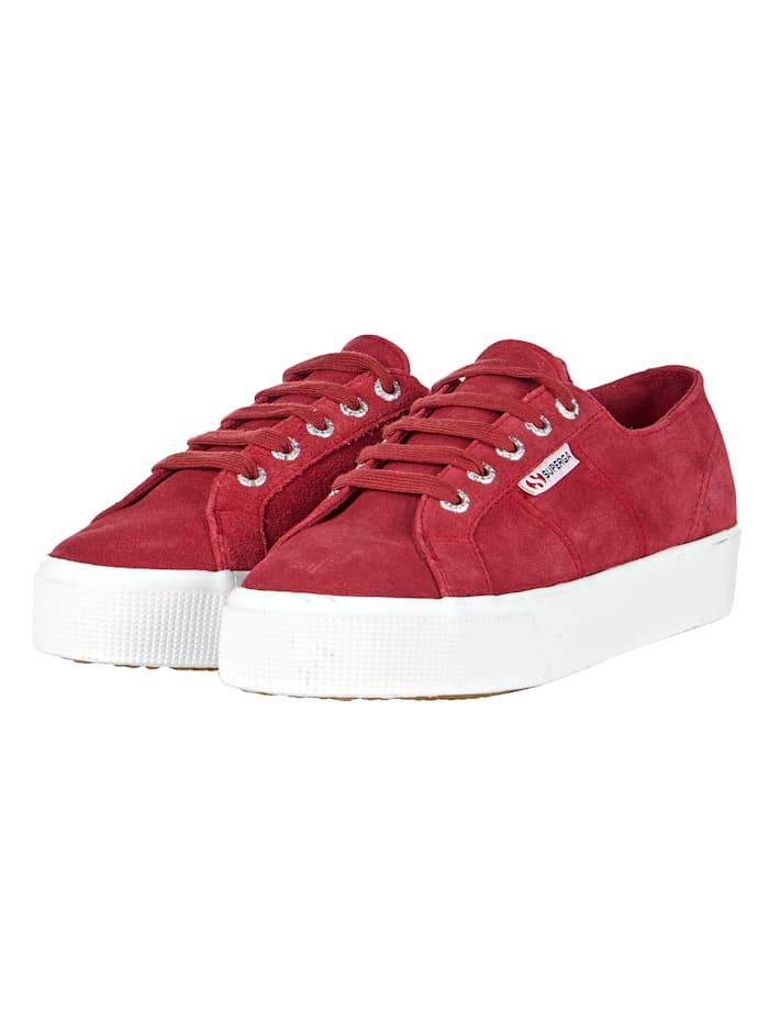 Superga Sneaker, Rot