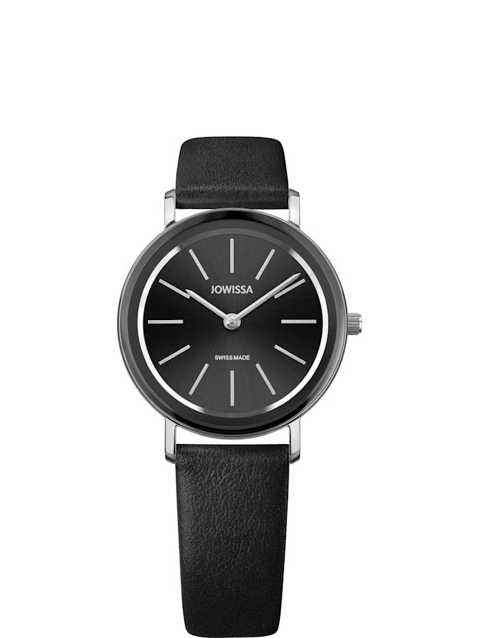 Jowissa Quarzuhr Alto Swiss Ladies Watch, schwarz