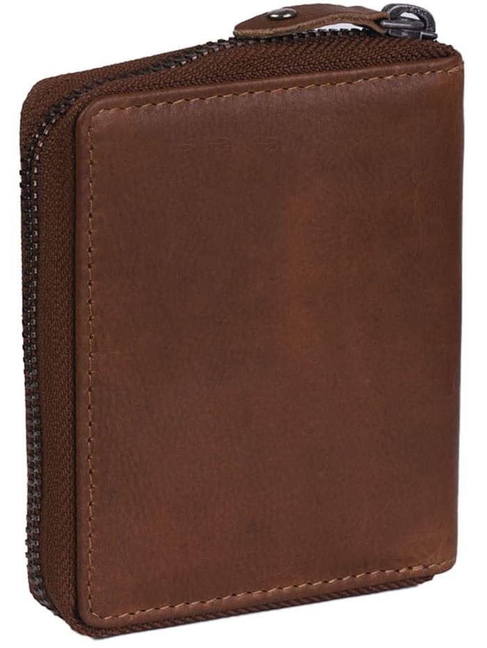 Wax Pull Up Melany Geldbörse RFID Leder 8,5 cm