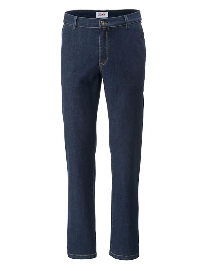 Roger Kent Jeans in flatfrontmodel, Dark blue