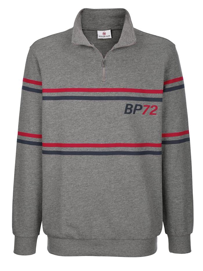 Sweatshirt met contrastkleurige print