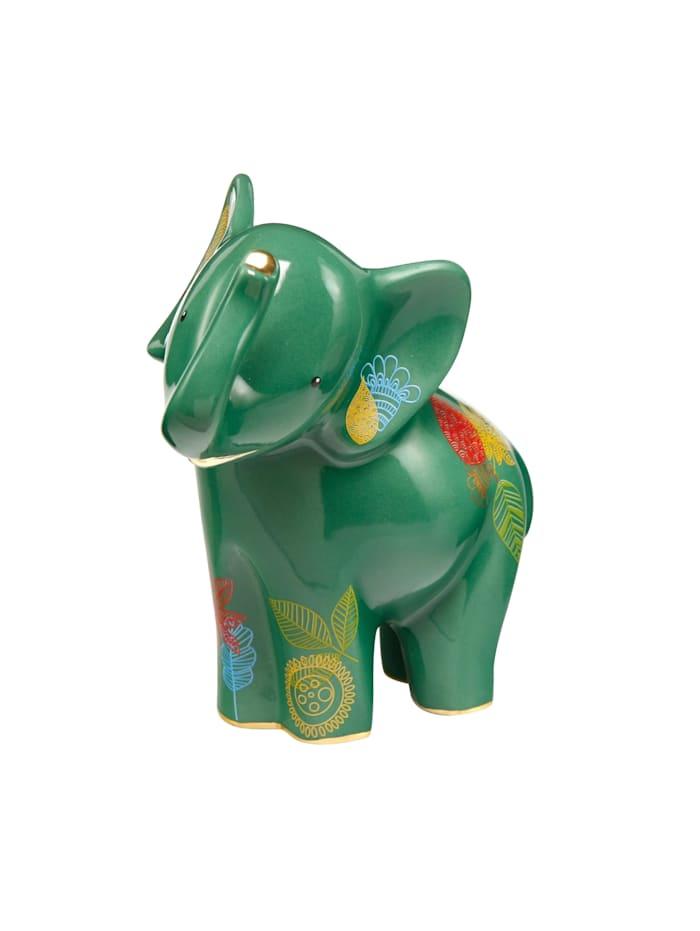 """Goebel Goebel Figur Elephant de Luxe - """"Tahri"""", grün"""