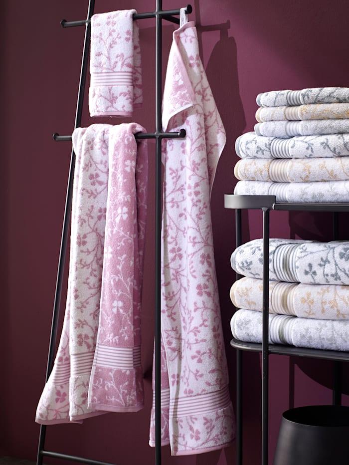 Kleinmann Frottierserie 'Vintage', rosa