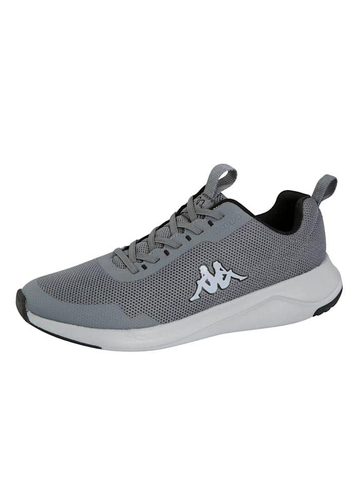 Kappa Sneakers à laçage élastiqué, Gris