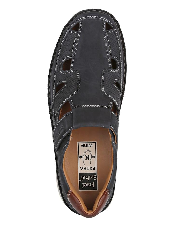 Slipper obuv s kontrastným prešívaním