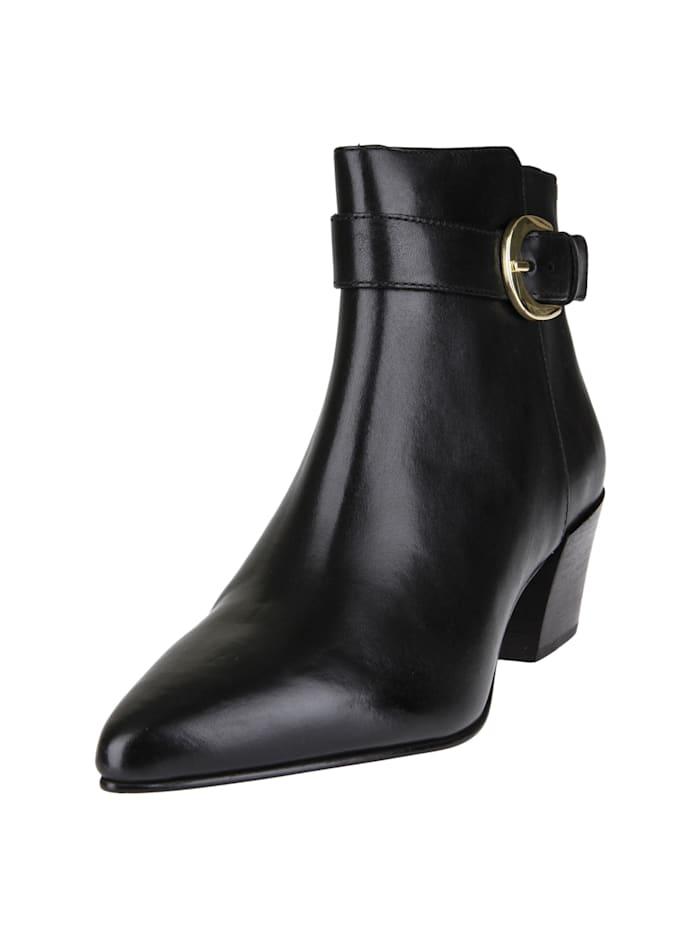 COX Stiefelette Trend-Stiefelette, schwarz