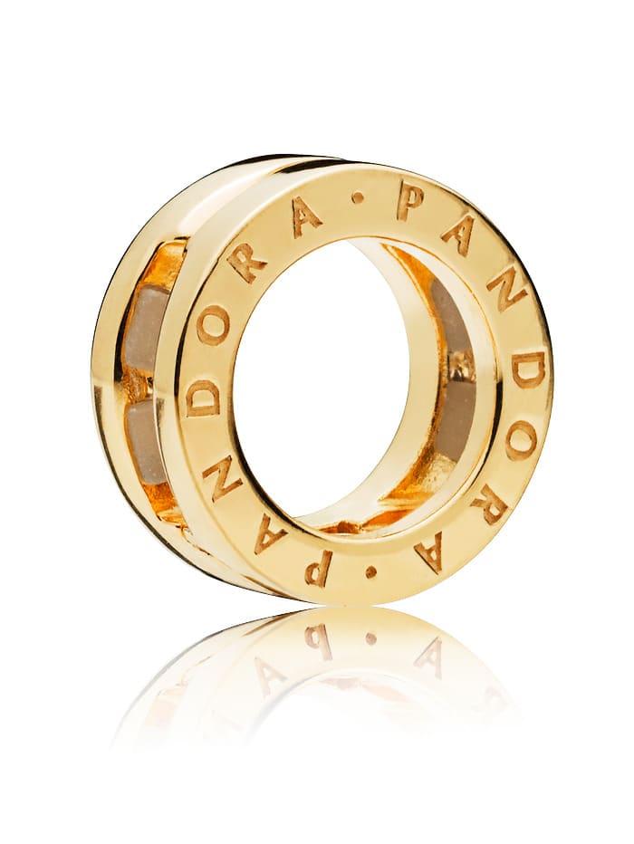 Pandora Clip-Charm 767598, Gelbgoldfarben