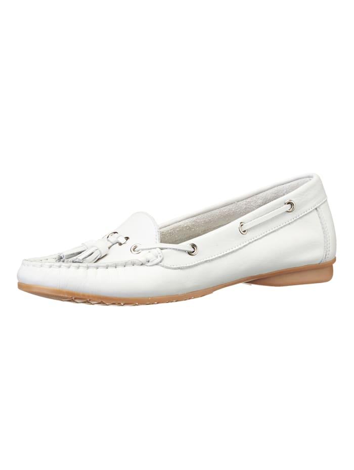 Liva Loop Mocassins de style classique, Blanc