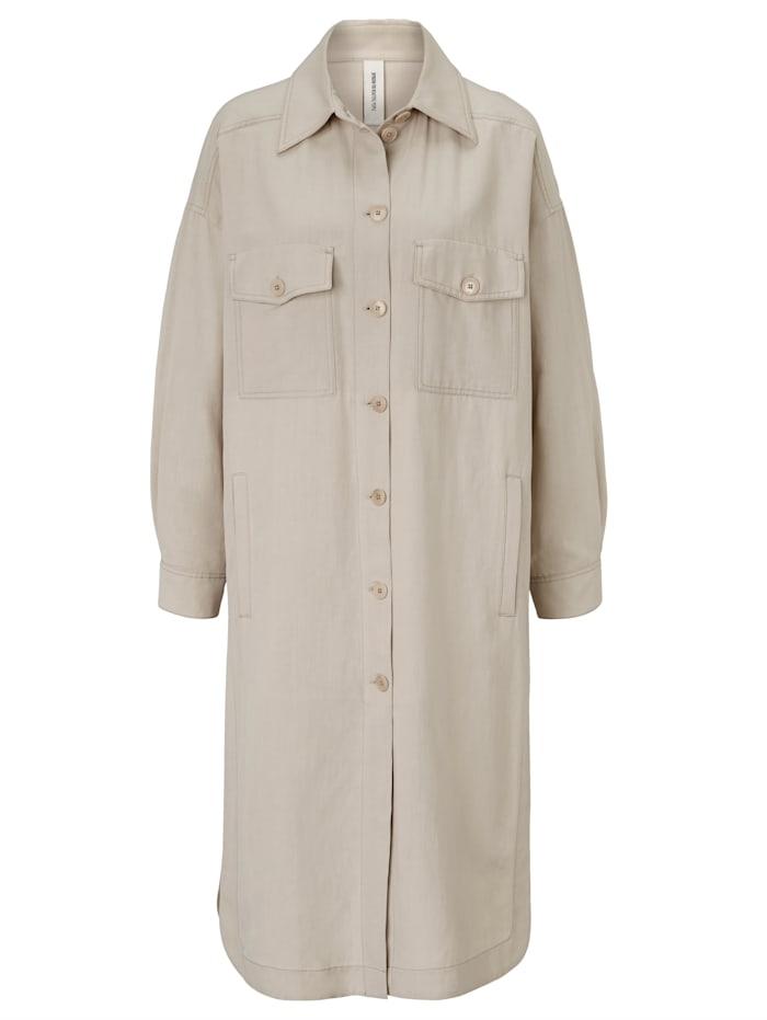 DRYKORN Oversized-Hemd, Creme-Weiß