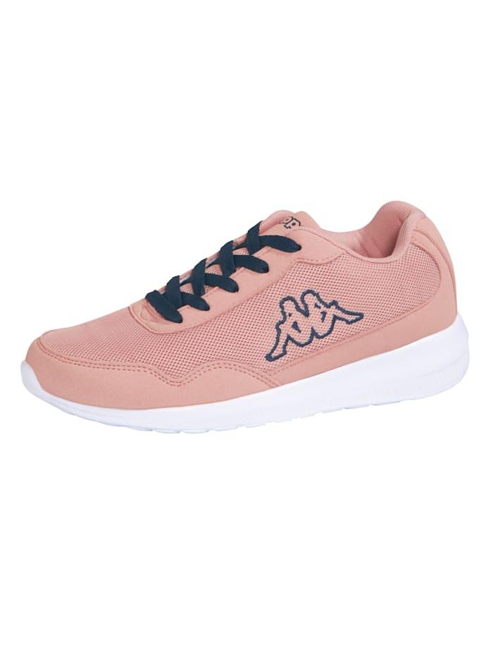 Kappa Sneaker in meshlook, Roze