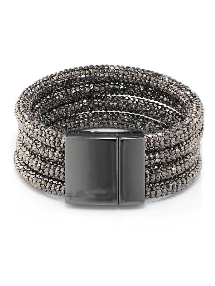 Alba Moda Armband als schmückendes Details, Grau