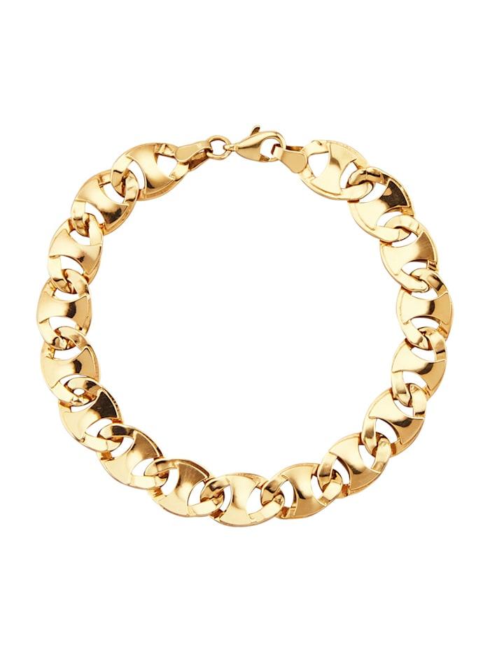 Armband i 9 k guld, Guldfärgad