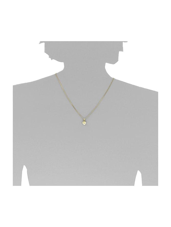 Anhänger - Herz - Gold 333/000 - ,