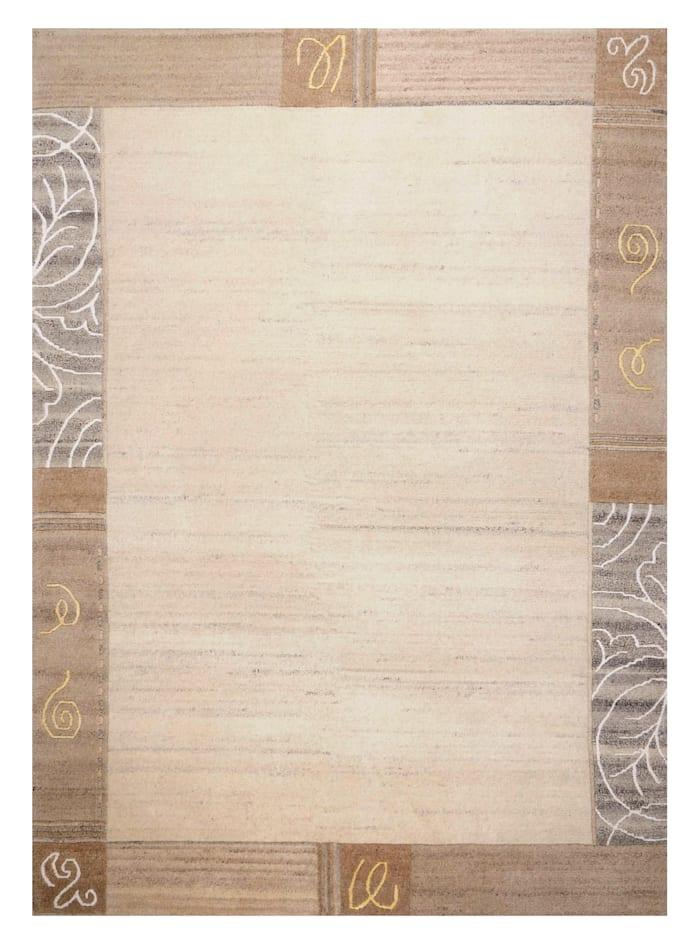 Theko®die Markenteppiche Handknüpfteppich Sirvan, Grau