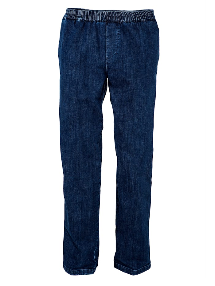 BABISTA Jeans med resår i midjan, Blue stone