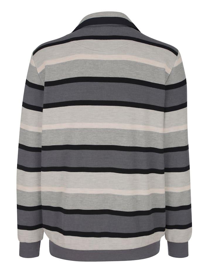 Sweatshirt med bröstficka
