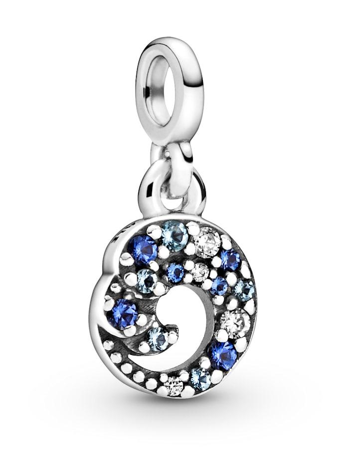 Pandora Charm -Meine Ozean Welle-, Silberfarben