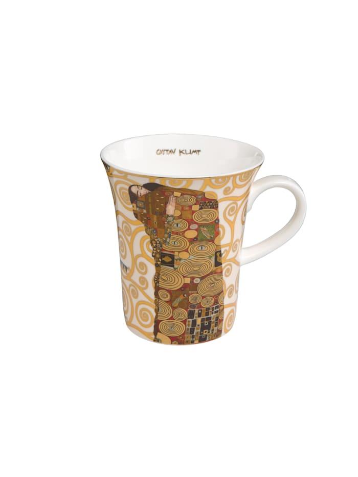 """Goebel Goebel Künstlertasse Gustav Klimt - """"Die Erfüllung"""", Klimt - Erfüllung"""