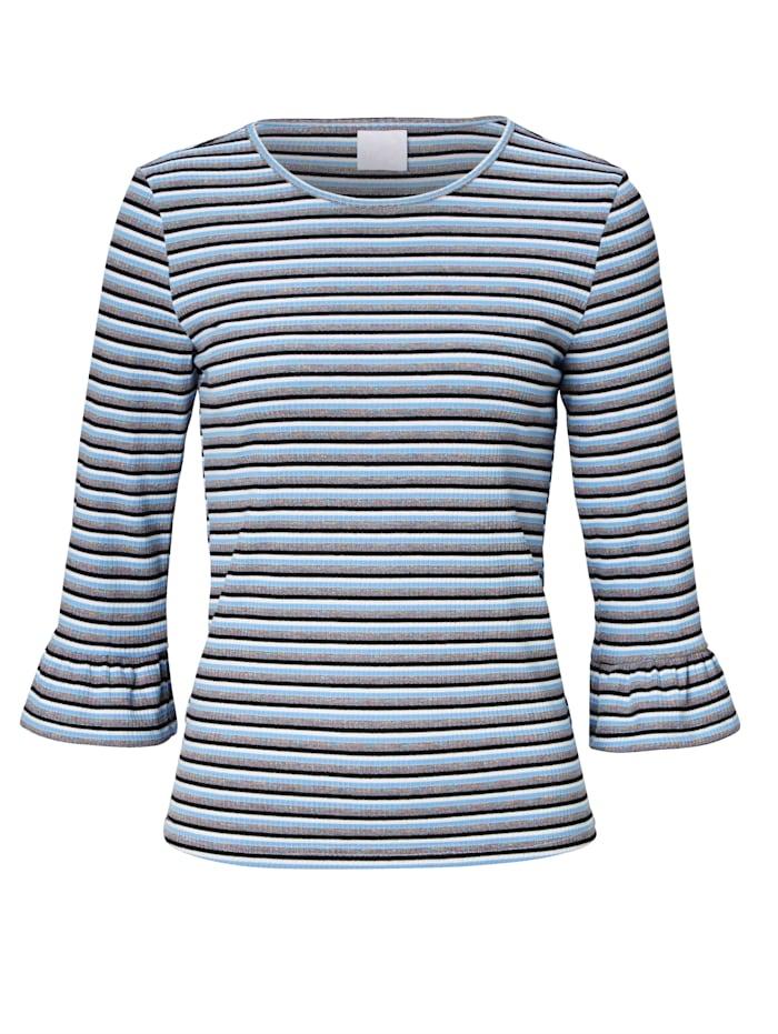 REKEN MAAR Shirt, Blau
