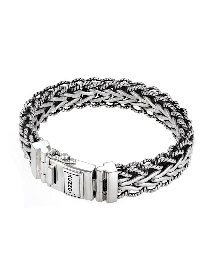Armband Herren Panzerarmband Gliederkette 925Er Silber