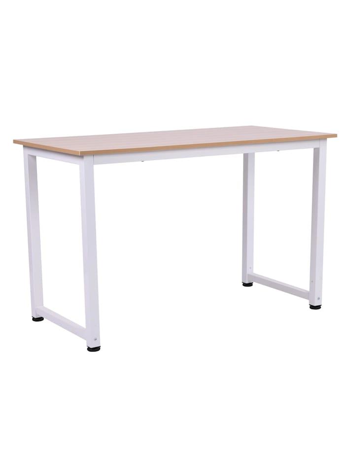 HOMCOM Schreibtisch, weiß